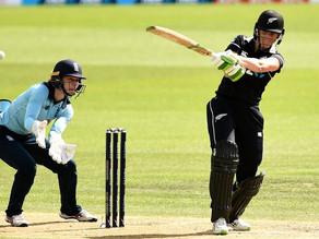 England Defeated as Satterthwaite hits Century