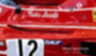 NIki Lauda Ferrari 1974 312B aluminium print