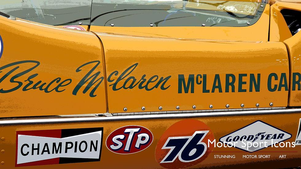 'McLAREN'