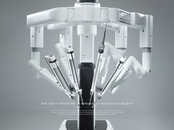 robot chirurgical Xi