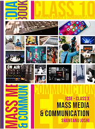 Textbook of Mass Media and Communication Class 10 - ICSE.png