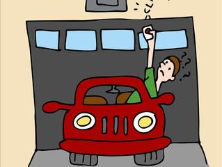 TIP OF THE MONTH!!! - FREE GARAGE DOOR SECURITY TIP