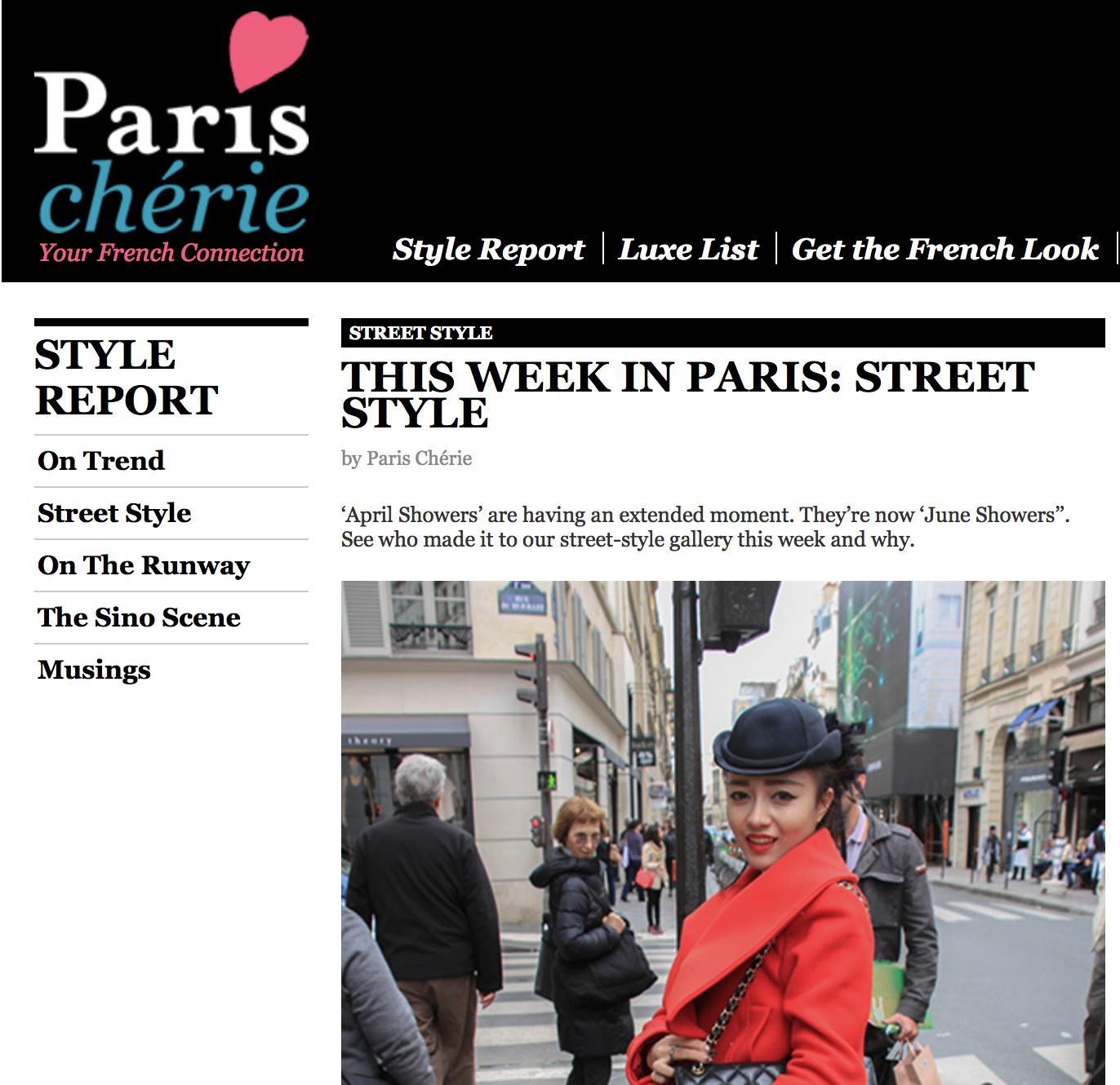 PARIS CHERIE