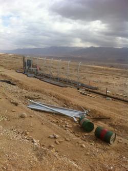 Timna Airport Perimeter Fence