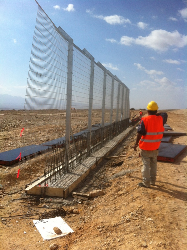 Timna Airport Perimeter Fence