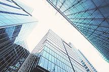 Blick auf Gebäude
