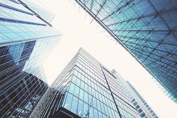 Vue des bâtiments