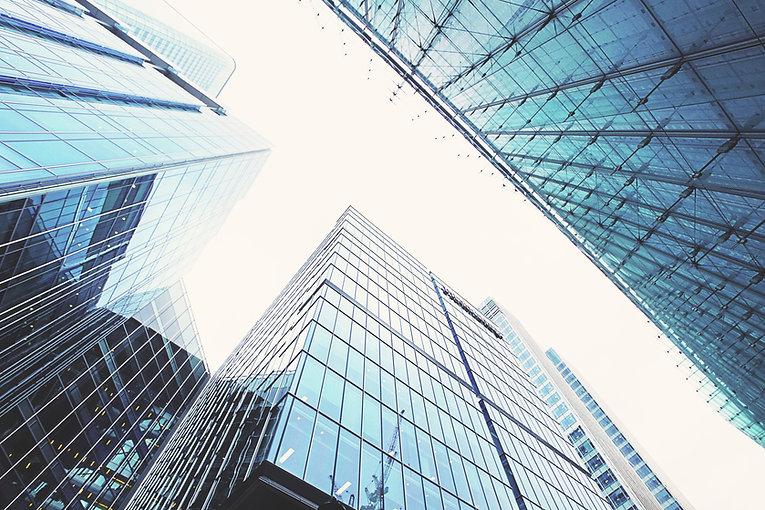 Vista de los edificios