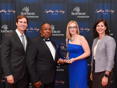 Trinity Community Ministries Receives the 2019 Lighting The Way Award from the Suntrust Foundation