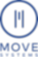 MOVE Systems Logo Vertical - Blue on Cle