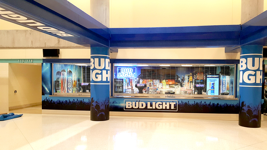 Bud Light Booth