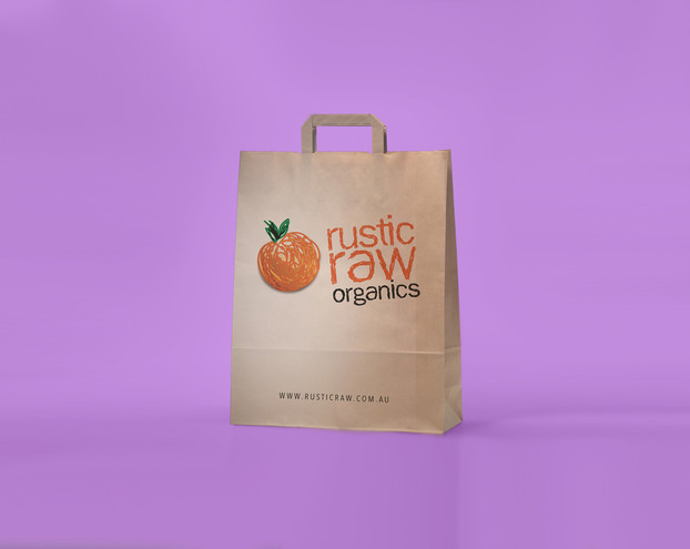 Rustic Raw Logo & Package Design