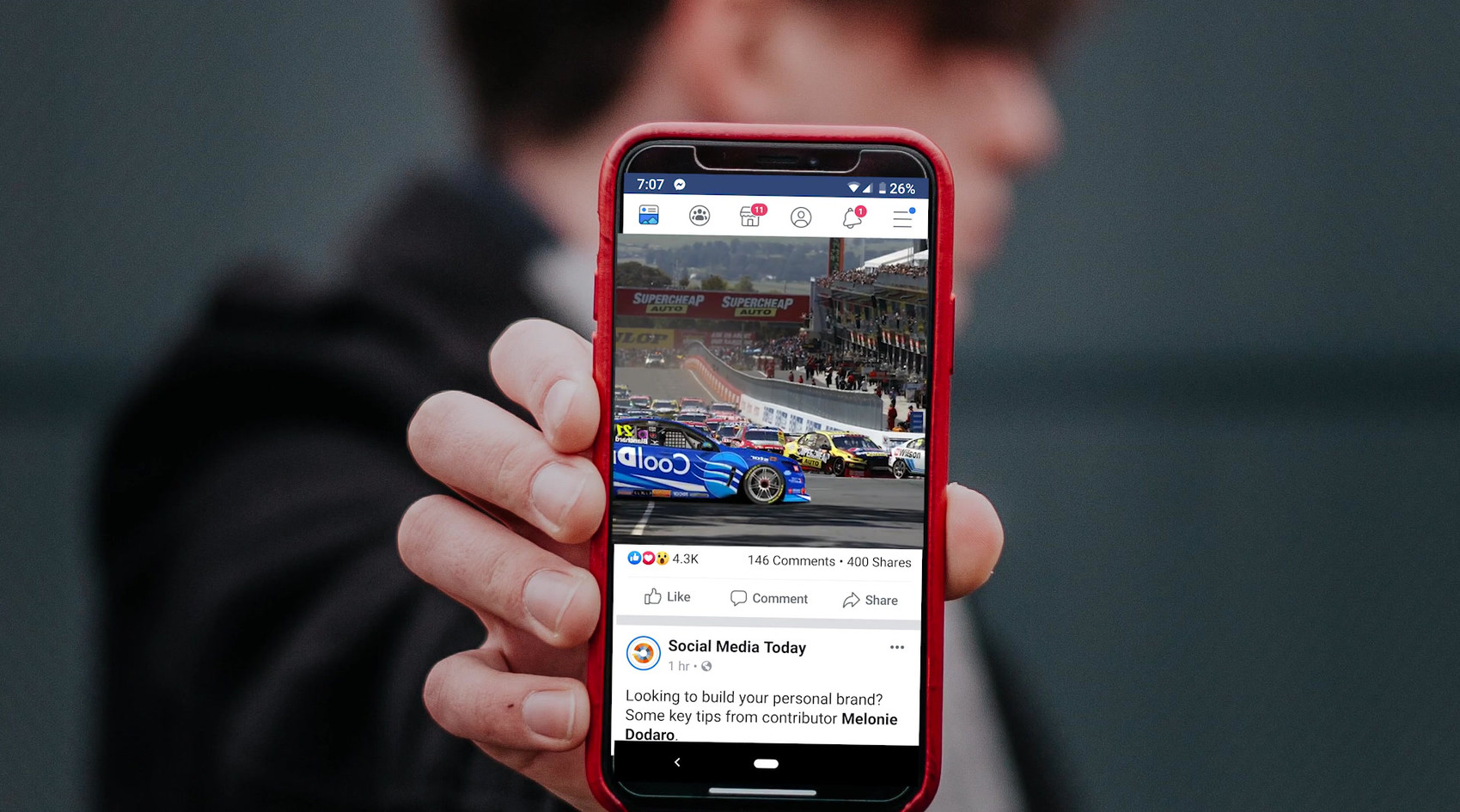 Supercars & Chip Foose Facebook campaign