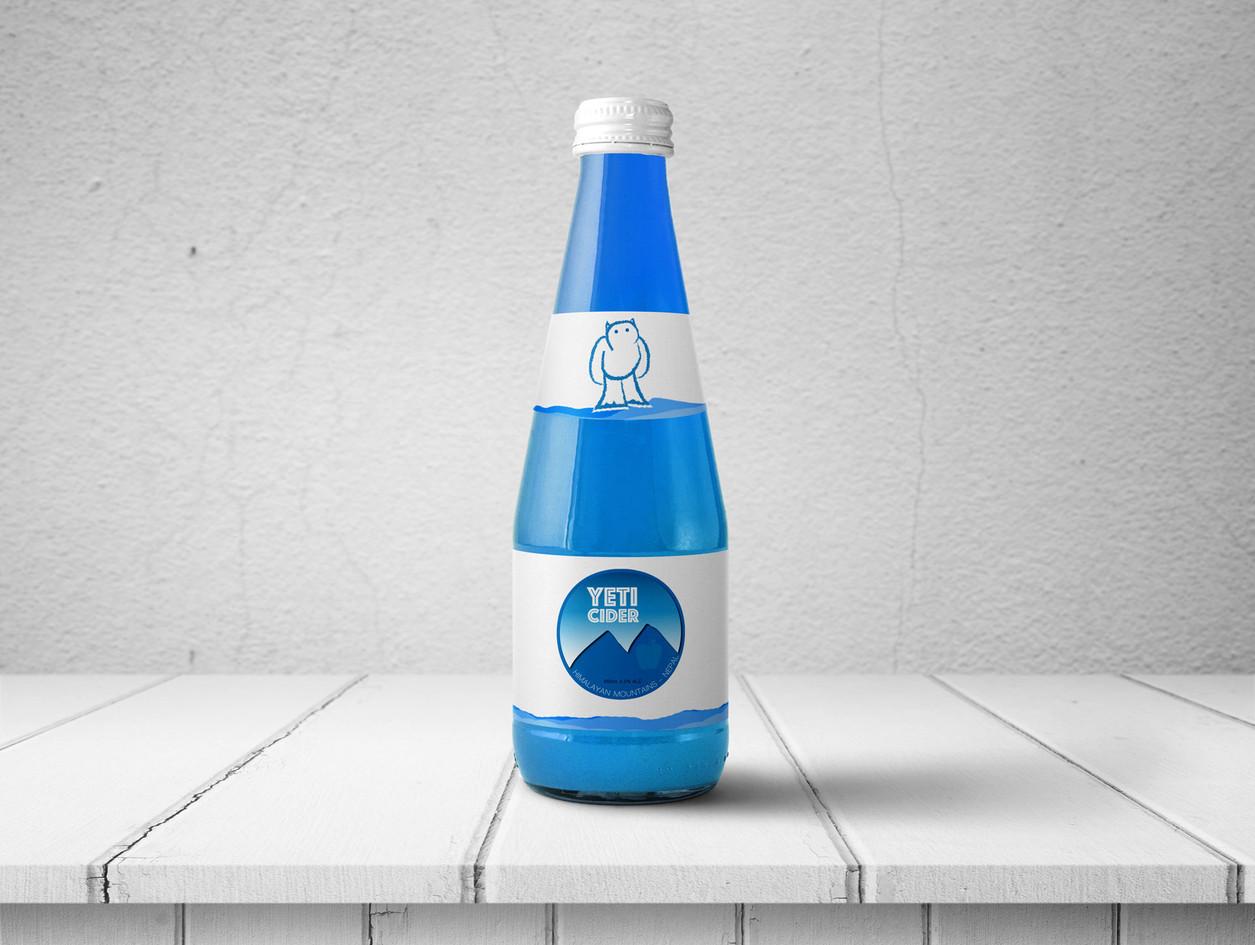 Yeti Cider Logo Design & Packaging