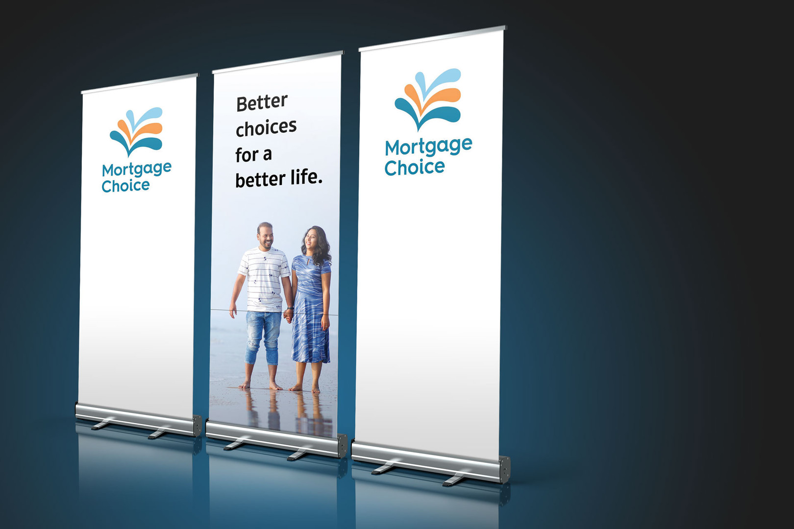 Mortgage Choice Pull Up Banners
