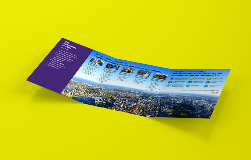 3M Corporate Brochure Design