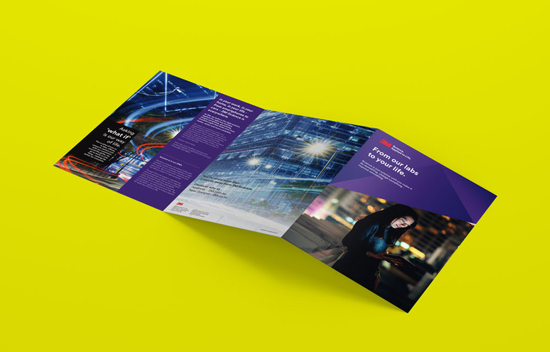 3M Corporate Brochure Design