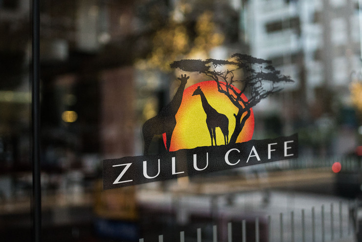 Zulu Cafe Logo Design