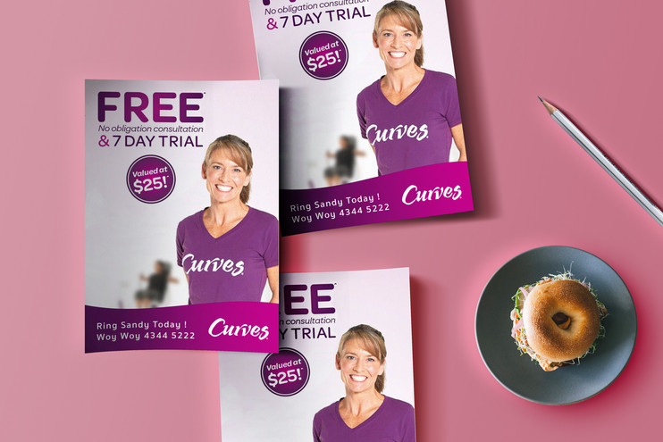 Curves Fitness Gym Promotion
