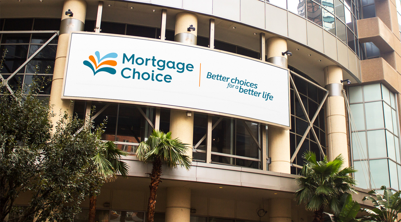 Mortgage Choice Location Sign