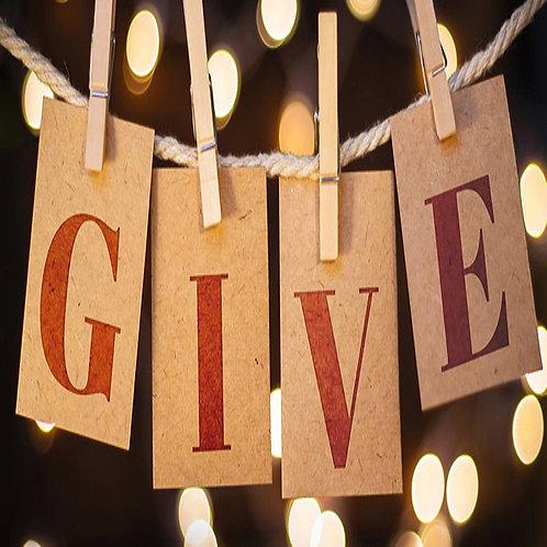 Annual Fund Drive Donation