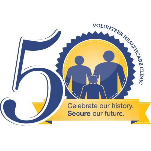 VHC logo 50 year
