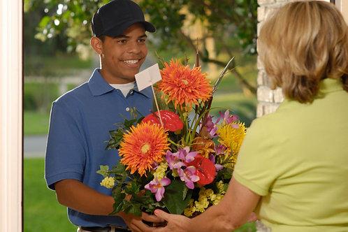 Floral Centerpiece DELIVERED option