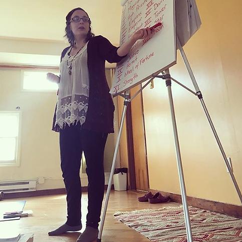 Teaching Intro to Tarot Workshop and Magic Class
