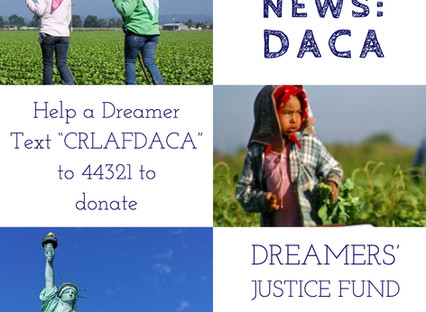The Supreme Court's decision is a victory for DACA recipients and their families!
