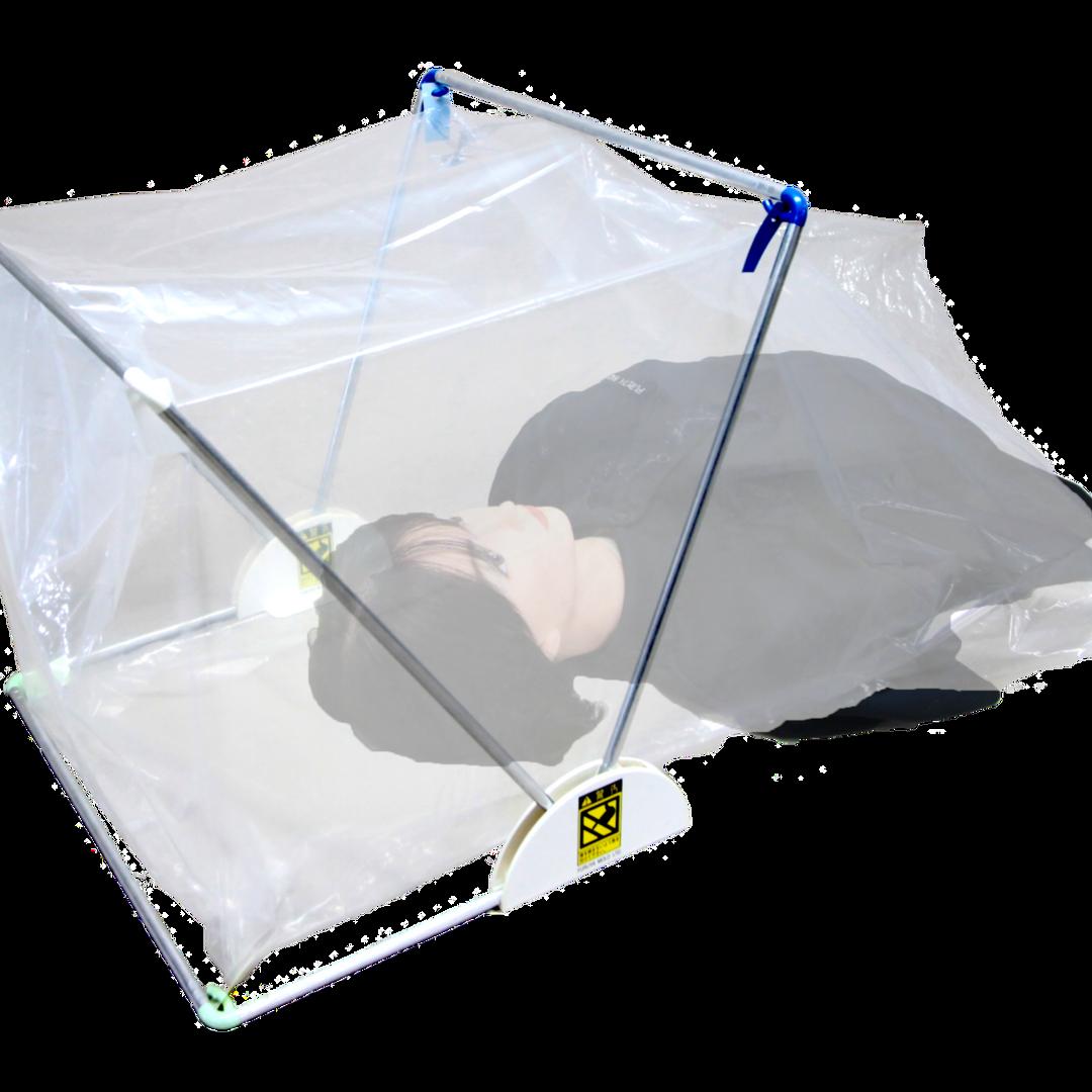 可変式ビニールテント型飛沫防止カバー「Protect+A」