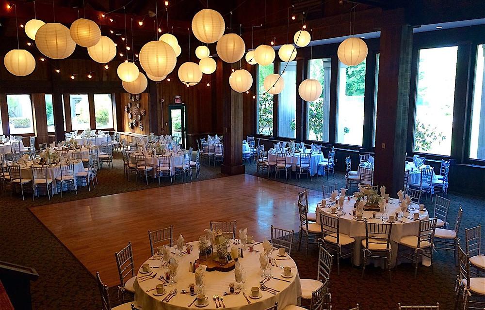 Heritage Hotel Timbers Room Wedding