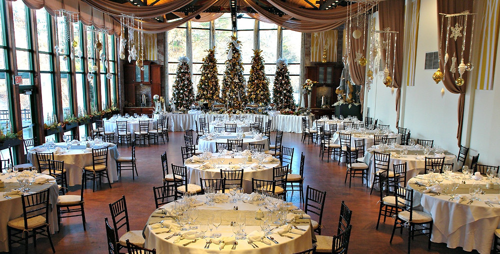 The Pond House Cafe Winter Wedding