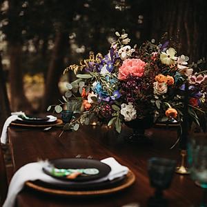 California Boho Meets New England Rustic Wedding Styled Shoot