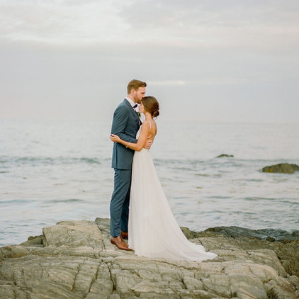 Eliza and Danny - A Romantic Wedding on New Hampshire's Seacoast