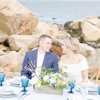 Classic, Coastal Connecticut Shoreline Wedding - A Styled Elopement Shoot