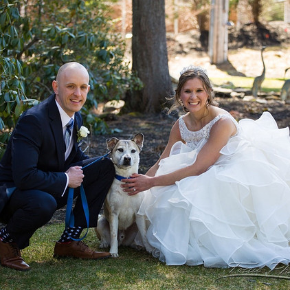 Incorporating your Furbaby into your wedding day!