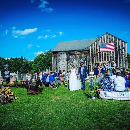 Rustic Weddings in Connecticut