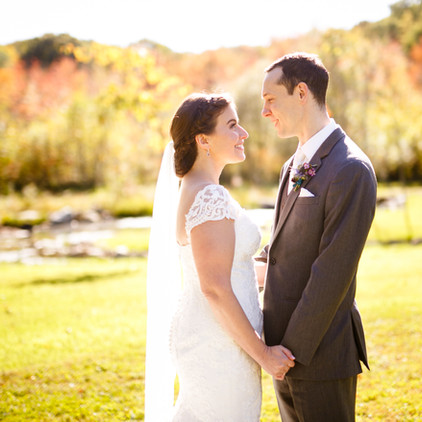 Meagan and Joe's Rustic October Wedding in Torrington, Connecticut