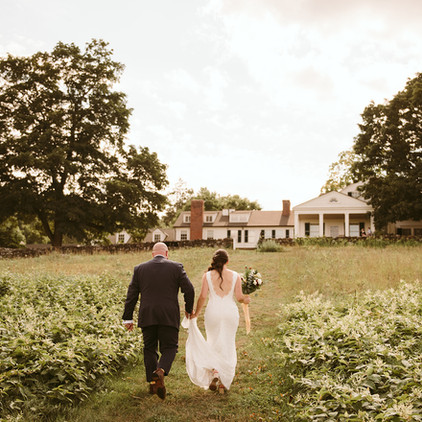 Clarissa & Max, An intimate September wedding at the Hill-Stead Museum in Farmington, Connecticut
