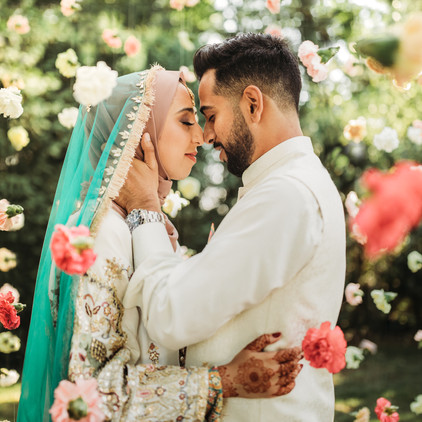 Marriyah & Usamah's Multi-Day Pakistani Wedding at Farmington Gardens & the Aria in Connecticut!