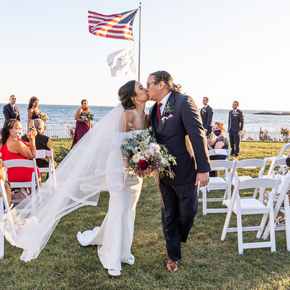Veronica & Felix's Jewel Toned, October wedding at Water's Edge Resort on the Connecticut Shoreline