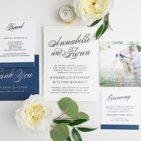 Partner Post with Basic Invite - an online stationery company for all your wedding paper needs!