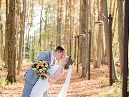 Kayla and Jeff's Rustic, Fall Wedding at Parmelee Farm in Killingworth, Connecticut!