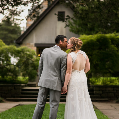 Carrie & Vikram's Summer Wedding at the Gallaher Mansion in Norwalk, CT