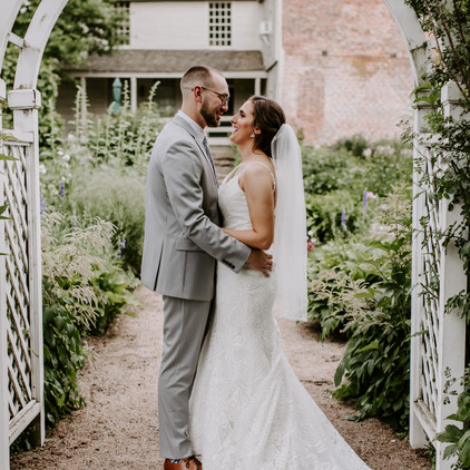 Aubrey and Quen's summer solstice wedding at the Webb Barn in Wethersfield, Connecticut!