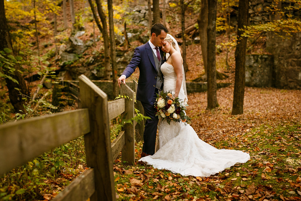 Southbury, CT Fall Wedding
