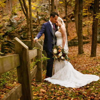 Siobhan and Mark's Rustic, Fall Wedding at the Heritage Hotel in Southbury, CT