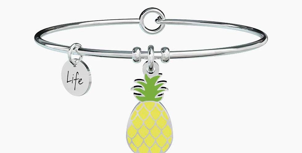 KIDULT bracciale  SYMBOLS 731311 Ananas- Dolcezza