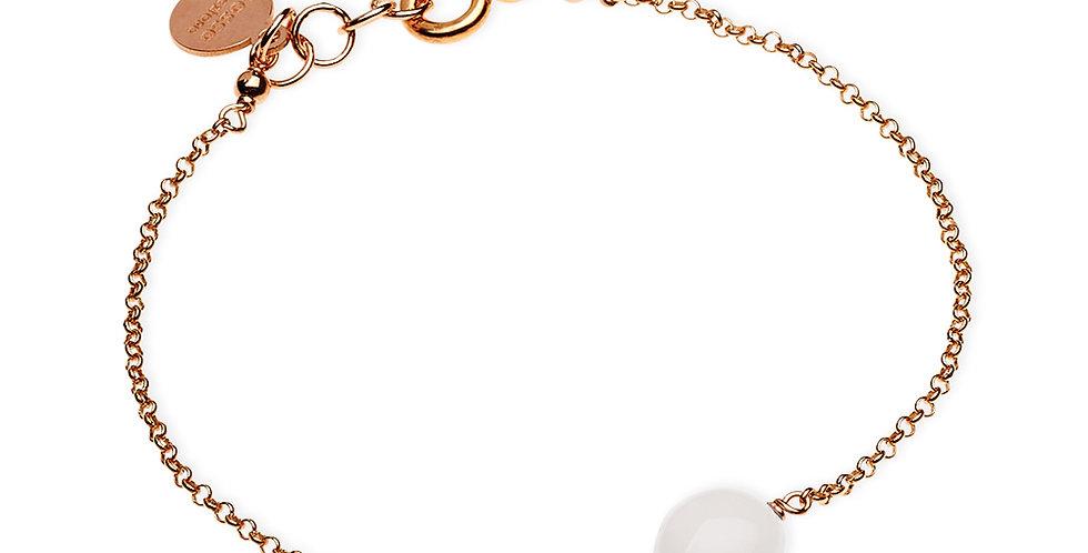 Rosso Prezioso braccialetto Semino d'Amore colore bianco21406wa