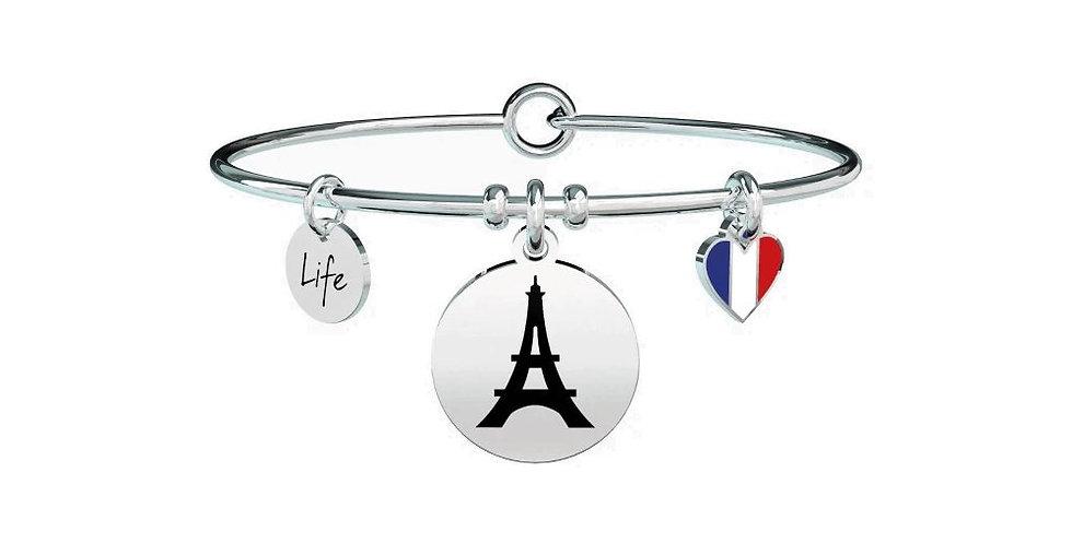 "KIDULT  bracciale"" FreeTime"" 731595 I LEFT MY HEART IN PARIS"